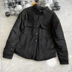 Fear of god Suede cotton jacket.